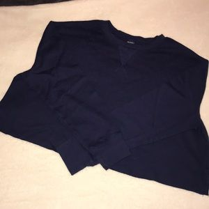 Navy Blue Wild Fable Cropped Thermal